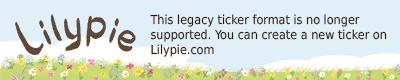 Lilypie Segundo Ticker